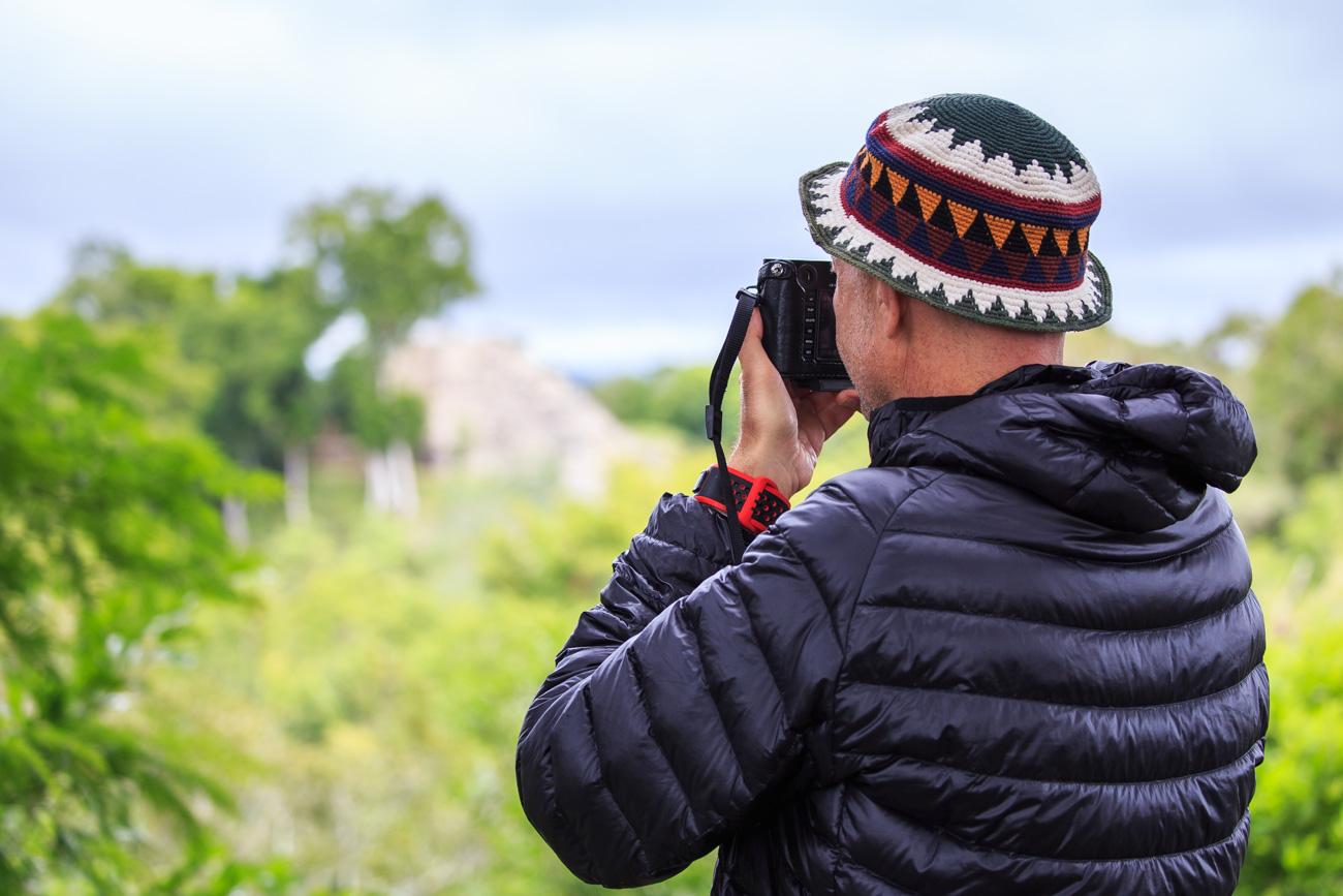 fotógrafo em tikal guatemala coração do mundo maia