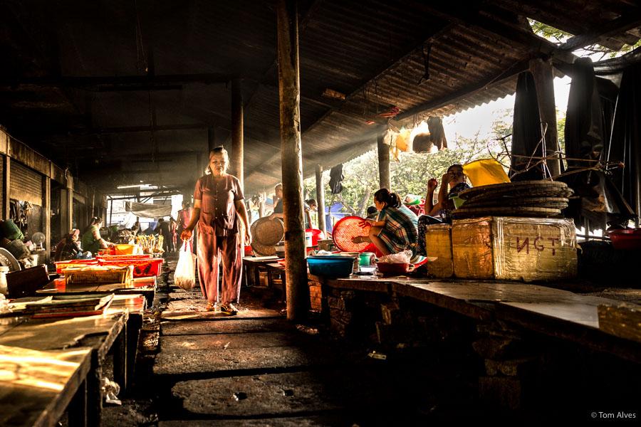 feira mercado hue vietnã