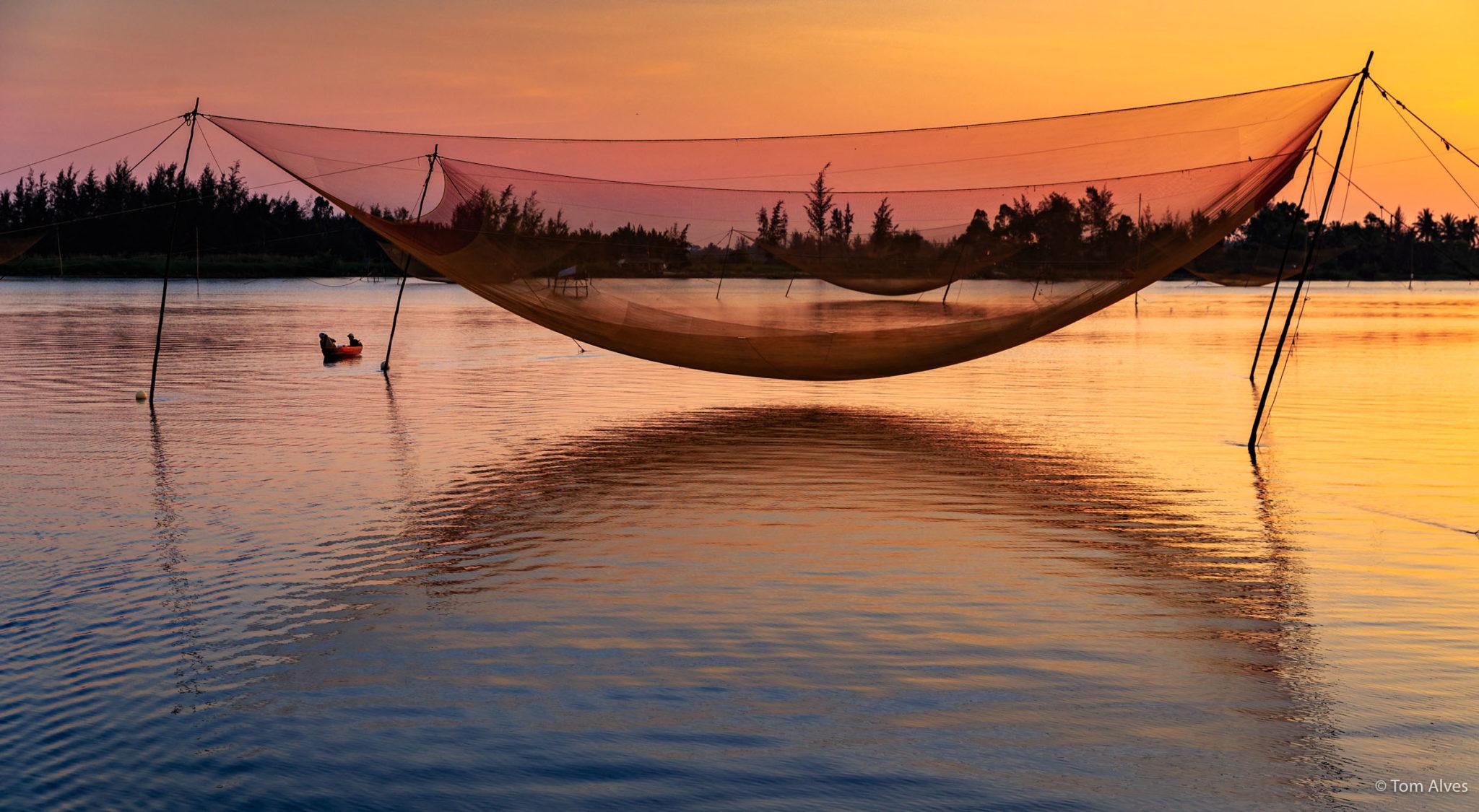 pesca tradicional vietnã