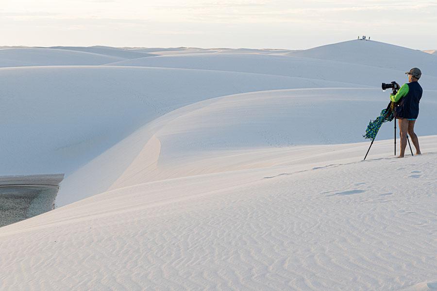 fotografia de paisagens bastidores