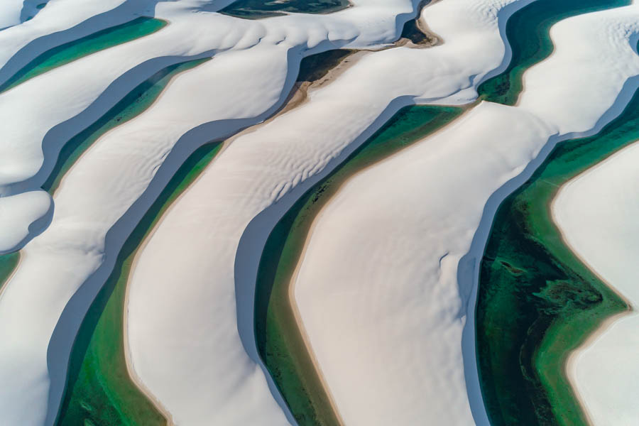 lençóis Maranhenses - fotografia aérea