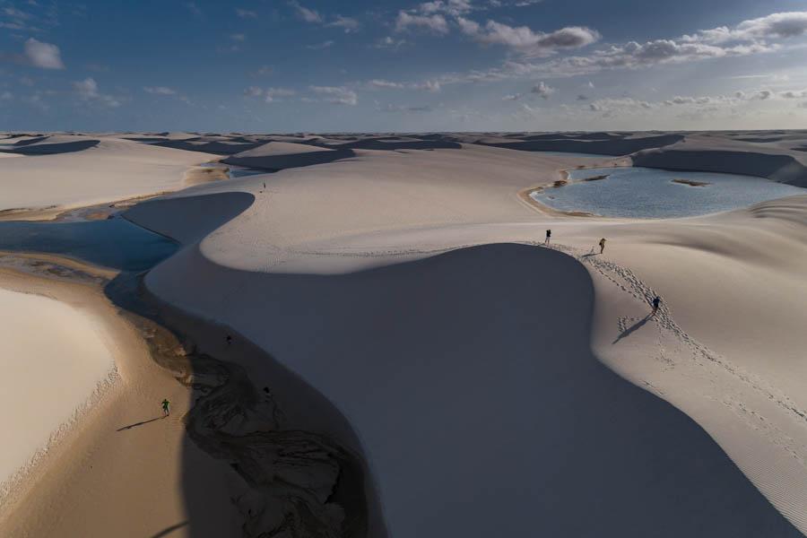 fotografia de drone expedição travessia