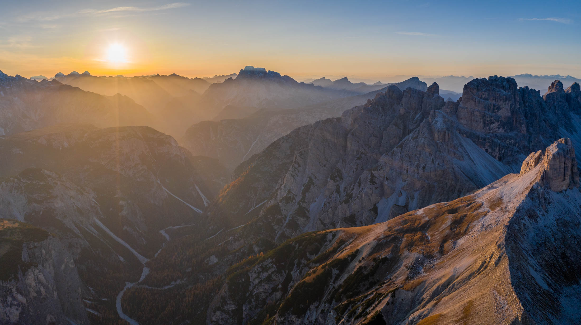 Drone - Dolomitas