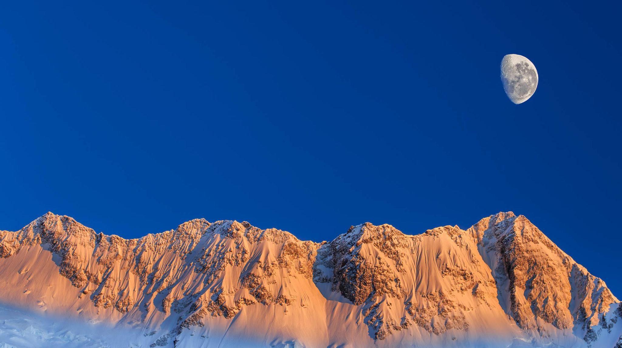 lua na montanha