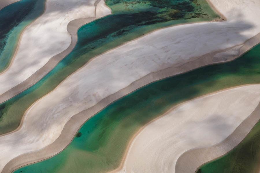 sobrevoo lençóis Maranhenses em expedição Fotográfica
