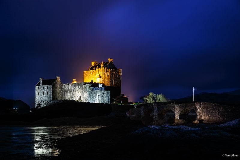 blue hour castelo Escócia